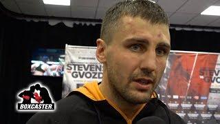 🚨👑 AND THE NEW 👑🚨 | Oleksandr Gvozdyk - Post Fight Interview | STEVENSON VS. GVOZDYK | BOXCASTER