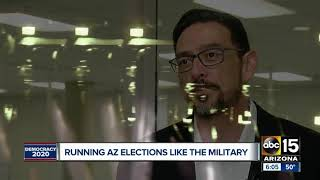 Running Arizona elections like the military