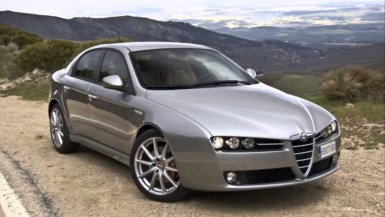 alfa romeo 159 3 2 v6 4x4 distinctive youtube. Black Bedroom Furniture Sets. Home Design Ideas