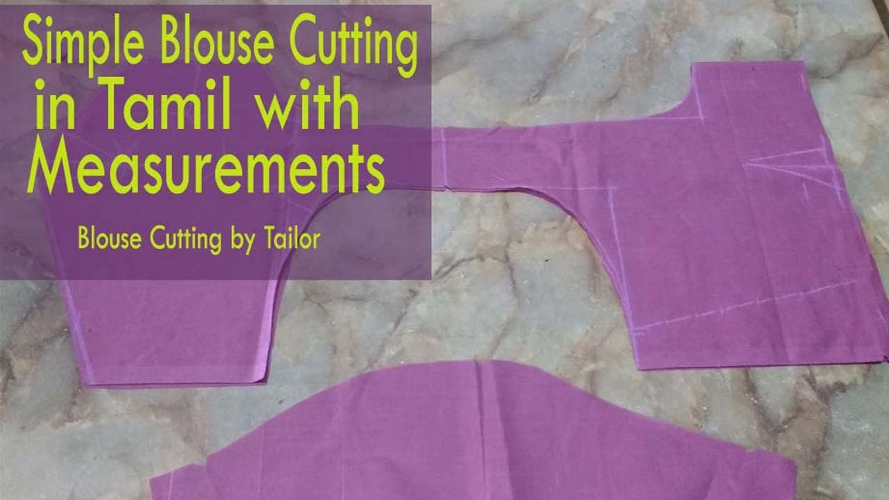 blouse cutting and stitching in tamil free download