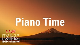 Piano Time - Spring Relaxing Music for Study, Stress Relief, Sleep - Beautiful SAKURA Piano