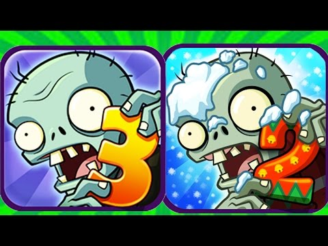 Plants Vs Zombies 2 vs Plants Vs Zombies 3(Fan Made)