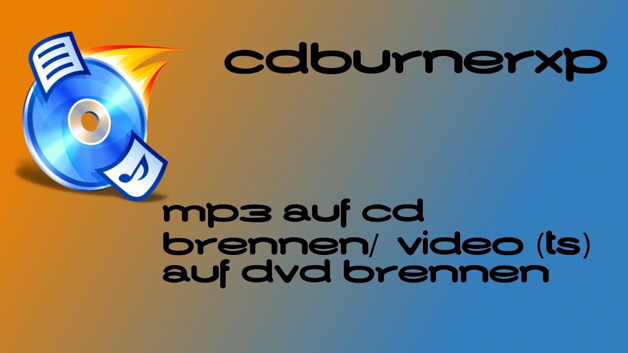 Mp3 Cd Brennen