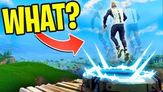WEIRDEST LAUNCHPAD GLITCH IN FORTNITE HISTORY!! (Fortnite Battle Royale - Cizzorz Highlights #46)