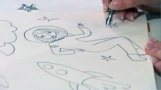 Kijk Hoe teken je sterren filmpje