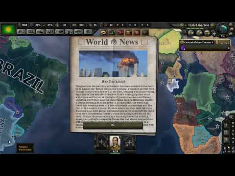 Central African Empire - Red World HOI4