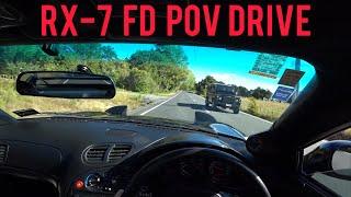 1998 Mazda RX7 FD3s POV Drive 1080p 60fps