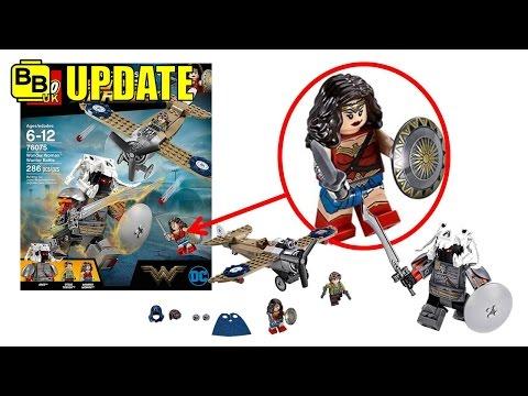 LEGO WONDER WOMAN WARRIOR BATTLE 76075 SET IMAGES NEWS UPDATE