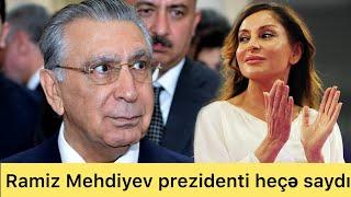 Ramiz Mehdiyev prezidenti saymadı-Nəvəsinə təmtəraqlı toy etdi