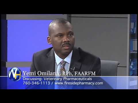 Veterinary Pharmaceuticals with Yemi Omilana, RPh, FAARFM Palm Springs Compounding Pharmacist