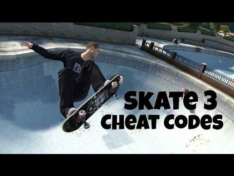 Skate 3 Cheat Codes
