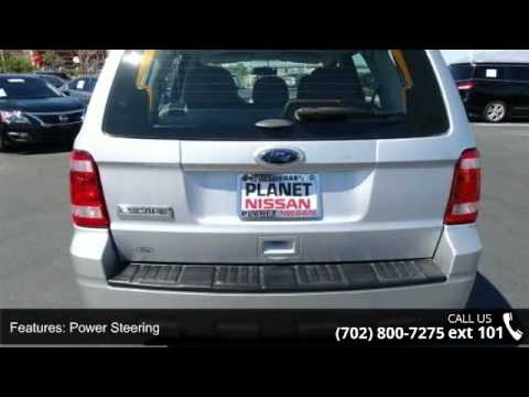 2011 ford escape xls planet nissan las vegas nv 89149 youtube. Black Bedroom Furniture Sets. Home Design Ideas