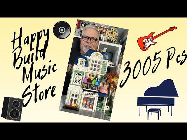 Happy Build No.YC-20008 Music Store - Super schönes Modulares Gebäude, es war ein Fest es zu bauen