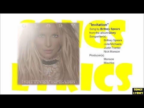 Invitation britney spears lyrics glory album youtube invitation britney spears lyrics glory album stopboris Choice Image