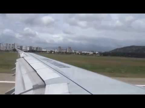 Taking off from Fuzhou Changle International Airport