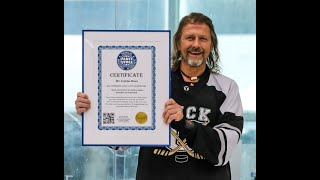 Most Consecutive Hockey Games Played: world record set by Calvin Mees
