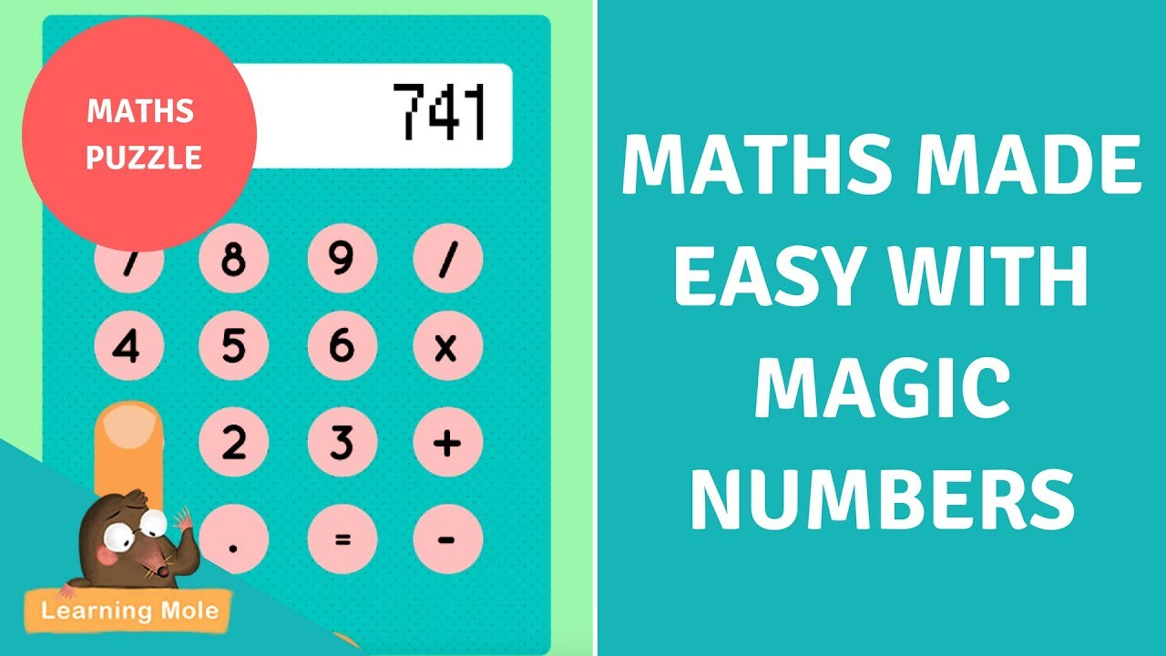 Math Puzzle - Maths made easy with Magic Numbers - Can you do it ...