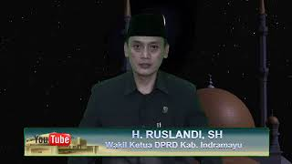 Ucapan Lebaran 1 Syawal 1439 H Wakil Ketua 1 DPRD Kab Indramayu H Ruslandi