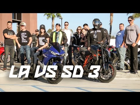 201 MOTORCYCLES! LOS ANGELES VS SAN DIEGO MEETUP!
