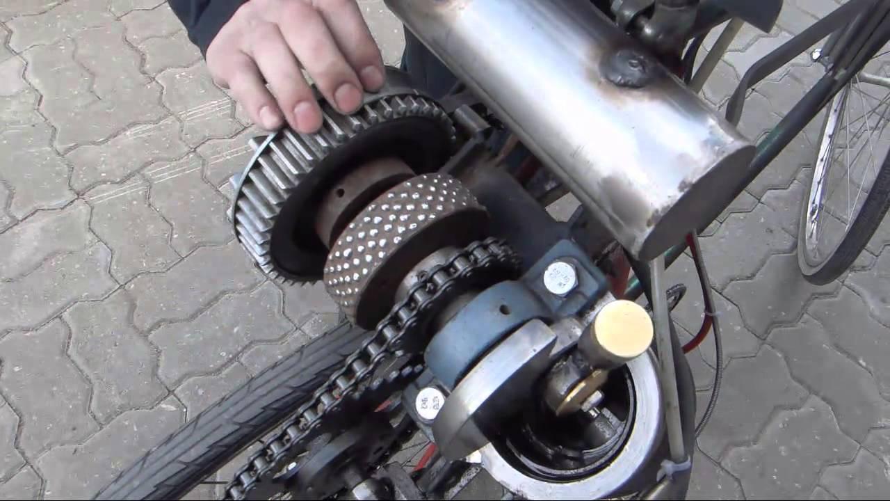 homemade open crank motor bicycle doovi