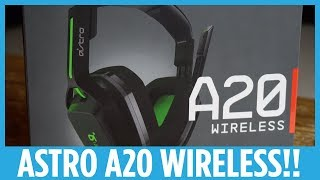 Astro A20 Wireless Headphones Hands-on