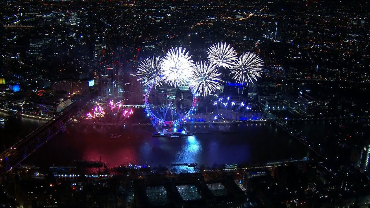 New Year 2018: London's spectacular fireworks display ...