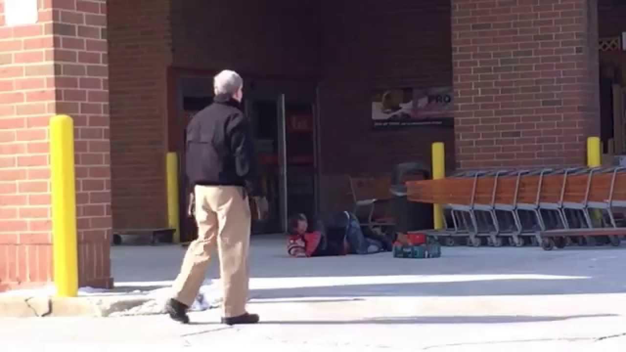 Guy gets caught shoplifting at Home Depot