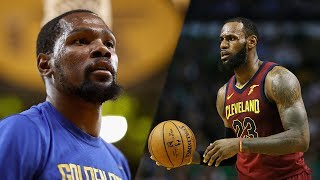Kevin Durant Now Being Called BETTER Than Lebron James by THIS NBA Coach