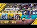 Download UAAP 81 WV: AdU vs. UST | Game Highlights | February 17, 2019