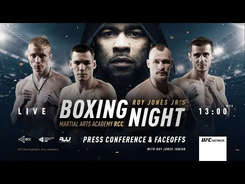 Roy Jones Jr Press Conference | First Event In Russia + Faceoffs | Egorov Vs Radchenko