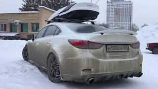 видео Какая решетка радиатора автомобиля Мазда 6 лучше в тюнинге