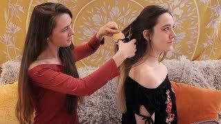ASMR - Soft Spoken Hair Salon 2 Roleplay ♡ (Scalp Massage, Hair Cutting, Brushing)