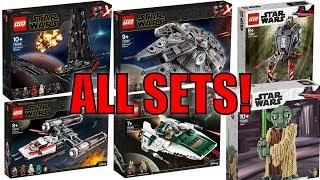 ALL NEW LEGO STAR WARS EPISODE 9 & THE MANDALORIAN SET PICTURES! (FORCE FRIDAY 2019)