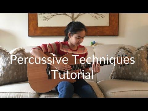 Basic Guitar Percussive Techniques Tutorial   Lanvy's Lessons