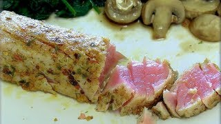 How To Make Seared Ahi Tuna