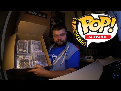 FUNKO POP! von Star Wars, Assassin's Creed & Bioshock | Unboxing