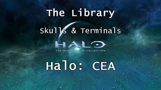 Halo: MCC [Halo: CEA] | Skulls & Terminals - Mission 7 - The Library | Collectibles