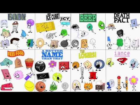 Bfb Bfdi Characters Colors Related Keywords & Suggestions - Bfb Bfdi