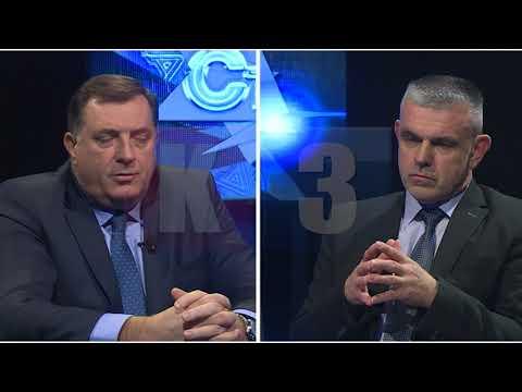 STAV TV K3 gost Milorad Dodik 21.  12.   2017.
