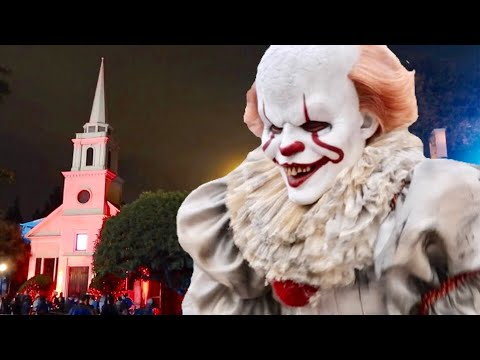 Horror Made Here : A Festival of Frights 2018 Opening Night on Warner Bros Studios Backlot