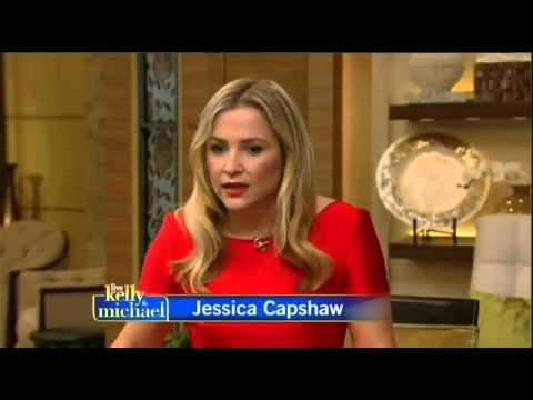 ‪Jessica Capshaw on LIVE with Kelly and Michael Oct. 23, 2014
