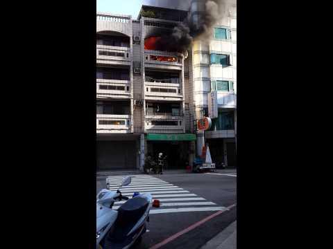 台中市西屯區太原路上住宅火警
