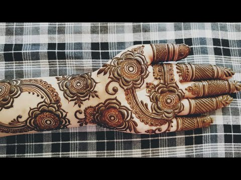 New Gulf mehndi design for Eid 2018 | heena vahid.
