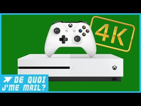 Xbox One S : la nouvelle console de Microsoft passe à la 4K  DQJMM (1/3)