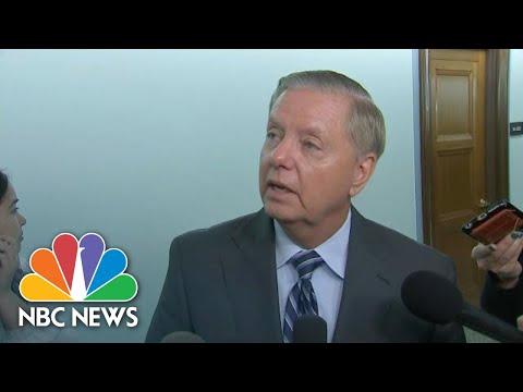 Lindsey Graham: 'We'll Consider' A Subpoena For Giuliani's Testimony | NBC News