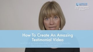 Gambar cover How To Create The Best Testimonial Video - Doctor Marketing. Longtin Media Group