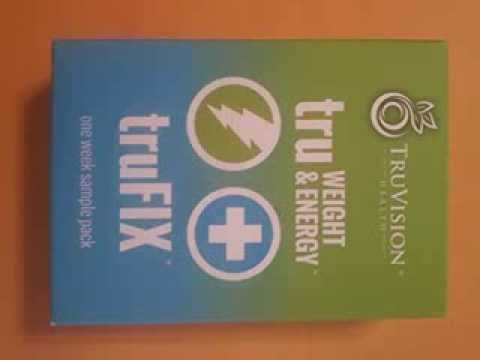 Get TruVision Health truFIX and truWEIGHT & Energy Sample Pack ...