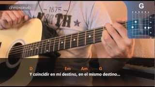 """Cómo tocar """"Bendita tu Luz"""" de Maná con Juan Luis Guerra en Guitarra (HD) - Christianvib"""