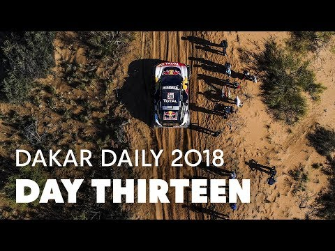 Day 13: Stage Cancelled For Bikes And Quads, Sainz Holds On To Lead in Cars | Dakar Daily 2018