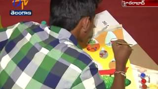Central Ground Water Board Conducted drawing competition Over Save Water Save Earth In Hyderabad
